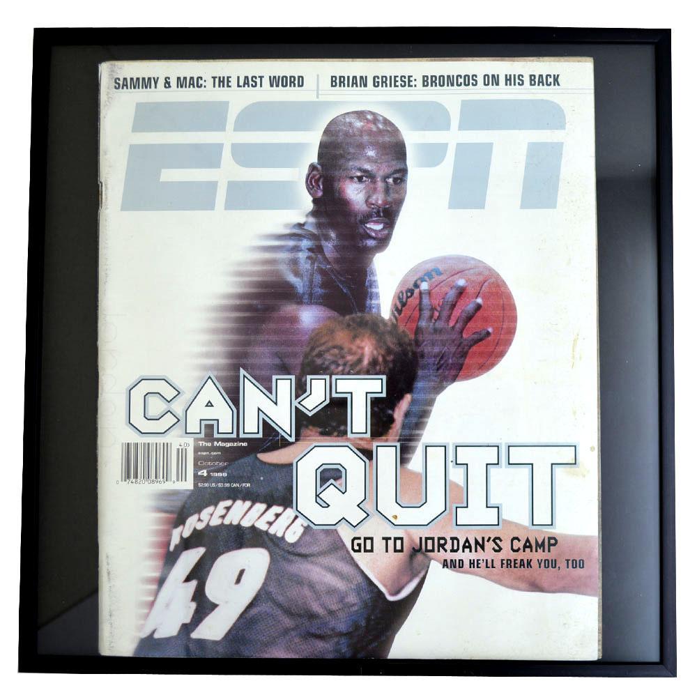 NBA ブルズ マイケル・ジョーダン フォトフレーム Photo Frame in ESPN 1999/4