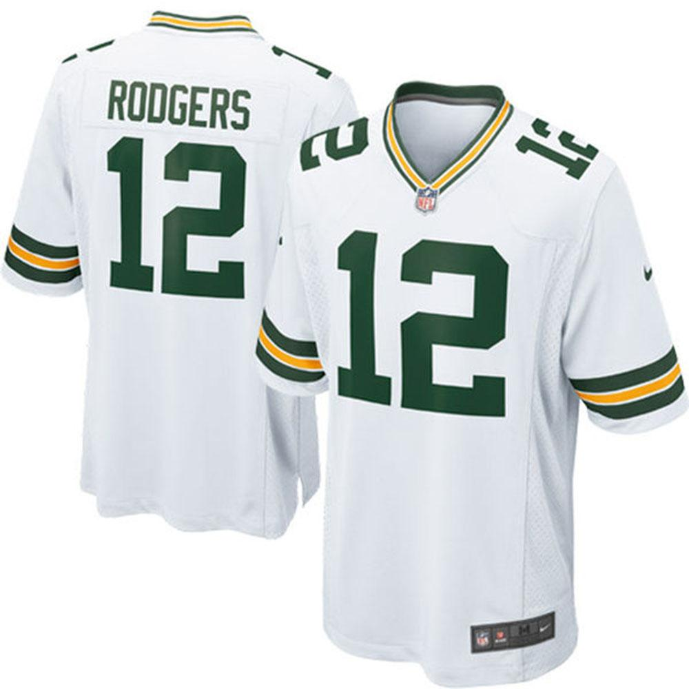 47883a7e NFL Packers Aaron Rodgers Jersey Game jerseys Nike