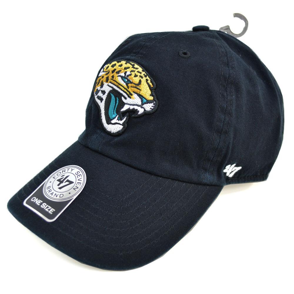 25f169d429a8e MLB NBA NFL Goods Shop  NFL Jaguars Cap   Hat Cleanup Cap 47 Brand ...