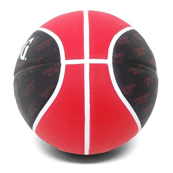 NBA Bulls basketball black / red -5 ball Spalding /SPALDING TEAM RUBBER BALL 2013