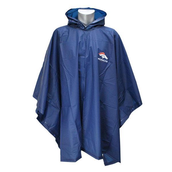 NFL Broncos poncho MacArthur /McArthur Poncho