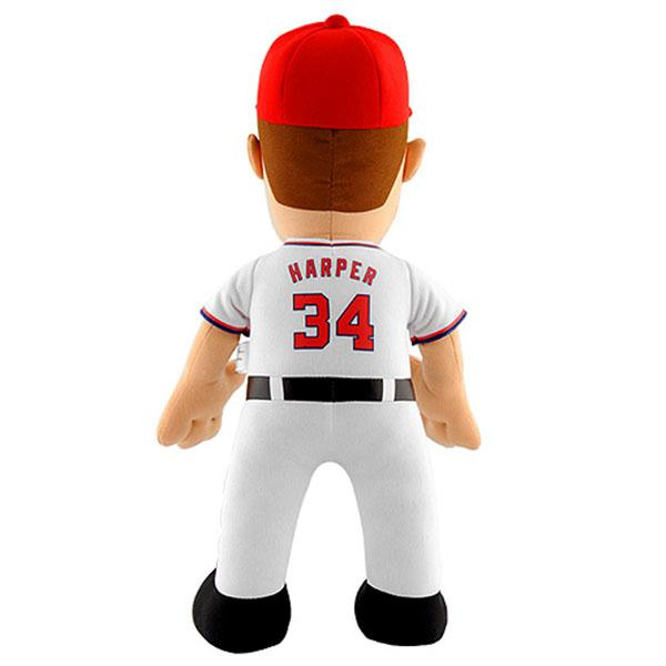 14-Inch Plush Doll including the MLB National's Brice Harper sewing