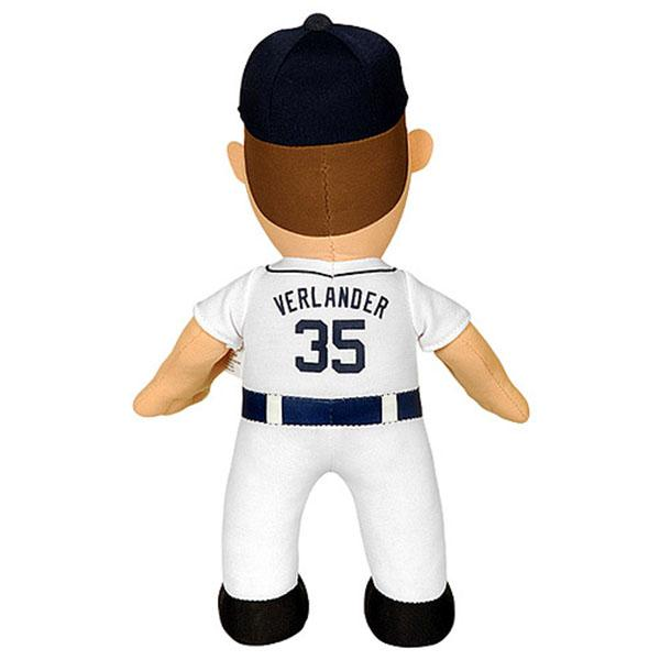 10-Inch Plush Doll including the MLB Tigers Justin bar lander sewing