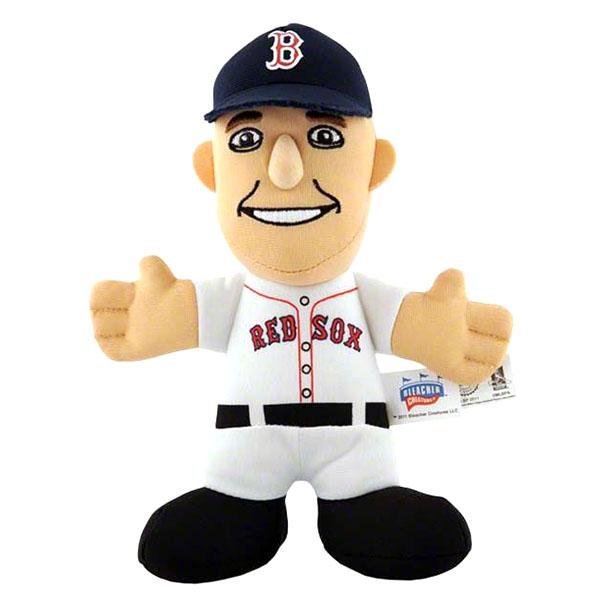 7-Inch Plush Doll including the MLB Red Sox Dustin ペドロイア sewing