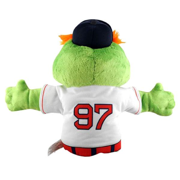 Hand Puppet including the MLB Red Sox Wally the Green Monster sewing