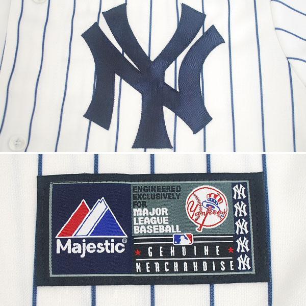 MLB Yankees Ichiro uniform home majestic Player Customized Replica Game uniform 2013