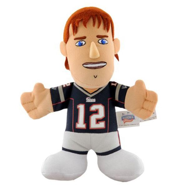 7-Inch Plush Doll including the NFL Patriots Tom Brede sewing