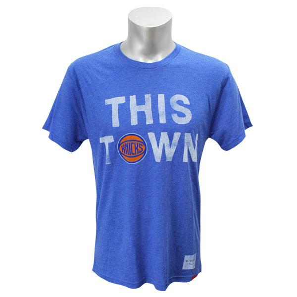 NBA New York Knicks This Town T-shirt (blue) Sportiqe