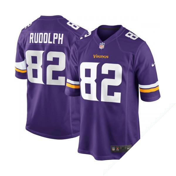 nike nfl vikings 82 kyle rudolph game jerseys (purple) mens minnesota vikings 24 captain munnerlyn w