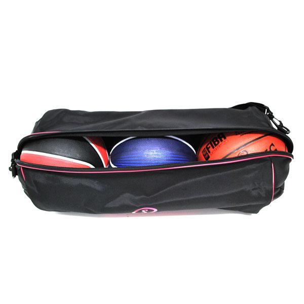 SPALDING trio Ball bag (black/pink)