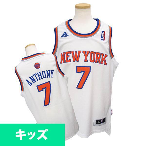 NBA ニックス カーメロ・アンソニー キッズユニフォーム ホーム Adidas 特別セール 特別セール 特別セール