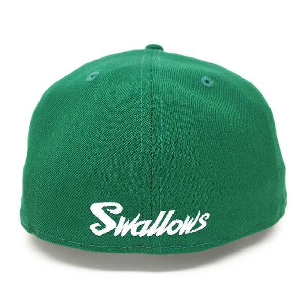 Tokyo Yakult Swallows goods cap / hat Kelly / white new gills Custom Color cap