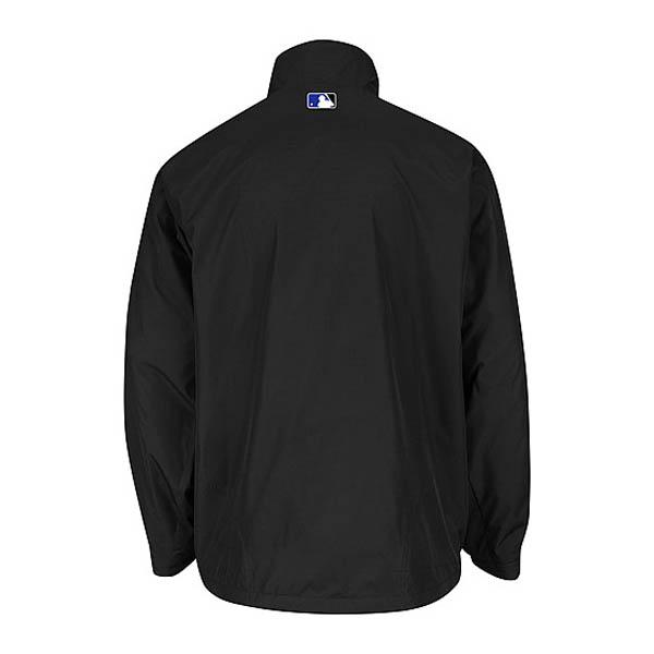 Majestic MLB Colorado Rockies Authentic Triple Climate-in-1 On-Field jacket (black)