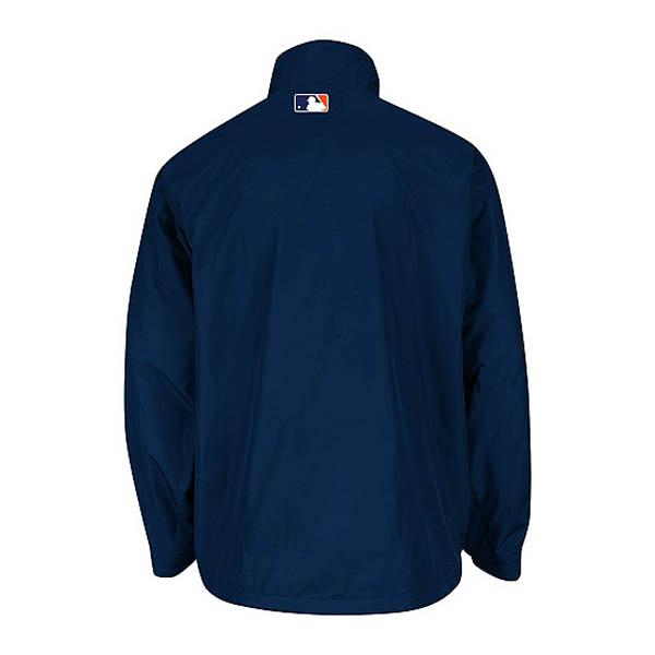 -1 MLB Detroit Tigers Authentic Triple Climate 3-In On-Field jacket (navy / road) Majestic
