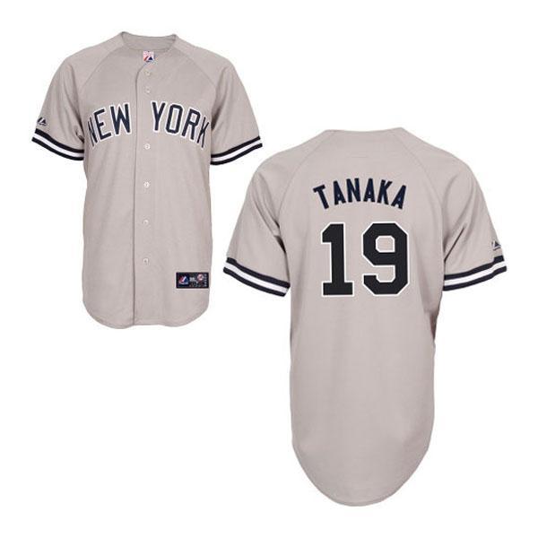 MLB ヤンキース 田中将大 ユニフォーム ロード Majestic