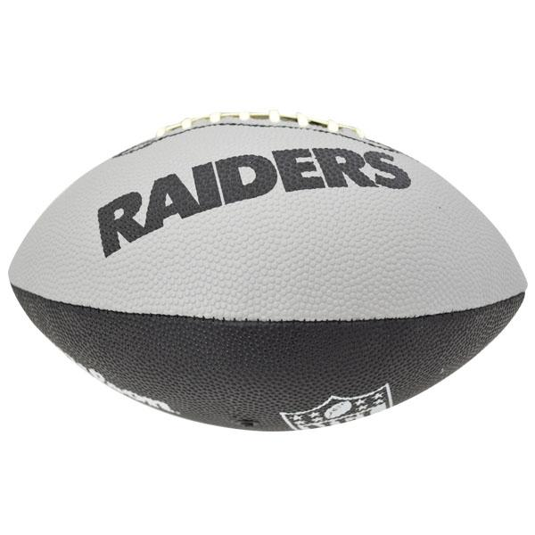 MLB NBA NFL Goods Shop: NFL Raiders ball Wilson /Wilson Junior Super Grip Rubber Football