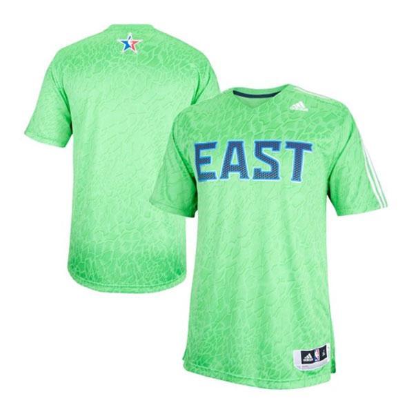 NBA イースト Tシャツ グリーン アディダス 2014 All-Star Game Time Shooter Tシャツ【1808NBA】【181001セール解除】