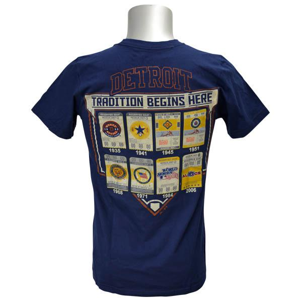 MLB Detroit Tigers Cooperstown Game Obsessed T-shirt (navy) Majestic