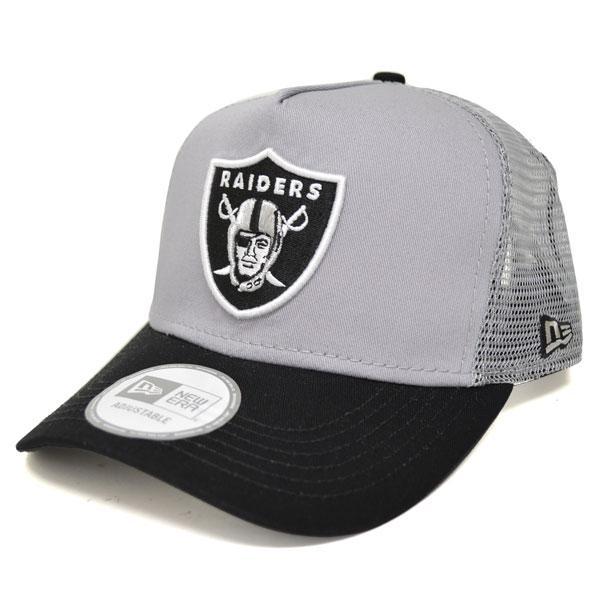20afc4d8780 MLB NBA NFL Goods Shop  NFL Oakland Raiders D-Frame Trucker Mesh cap ...