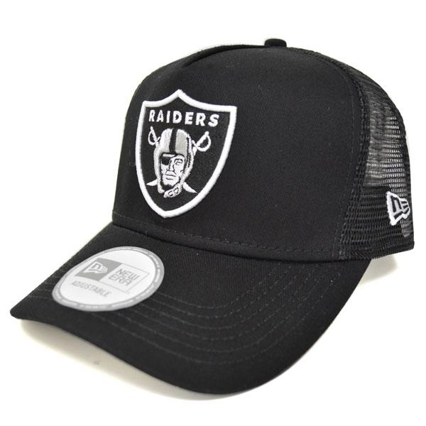 488d7016717 MLB NBA NFL Goods Shop  NFL Oakland Raiders D-Frame Trucker Mesh Cap ...