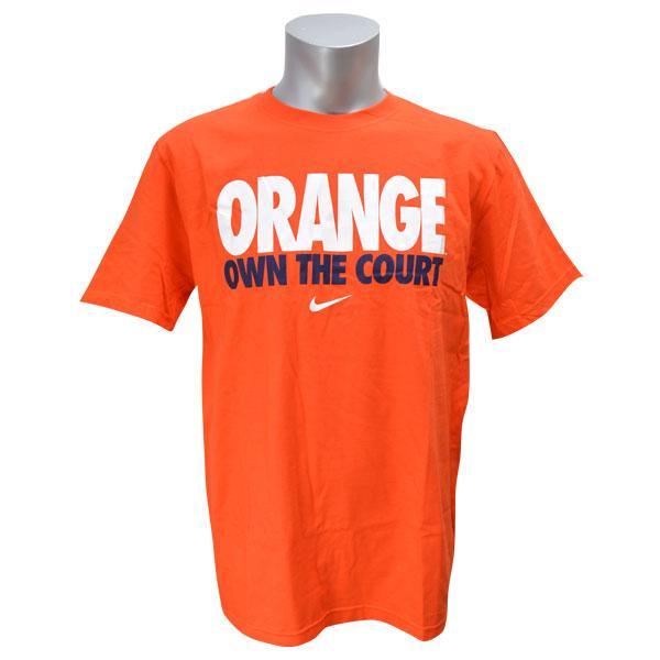 NCAA 橙色 T 恤橙色耐克 /Nike (法院大学自己的 t 恤)