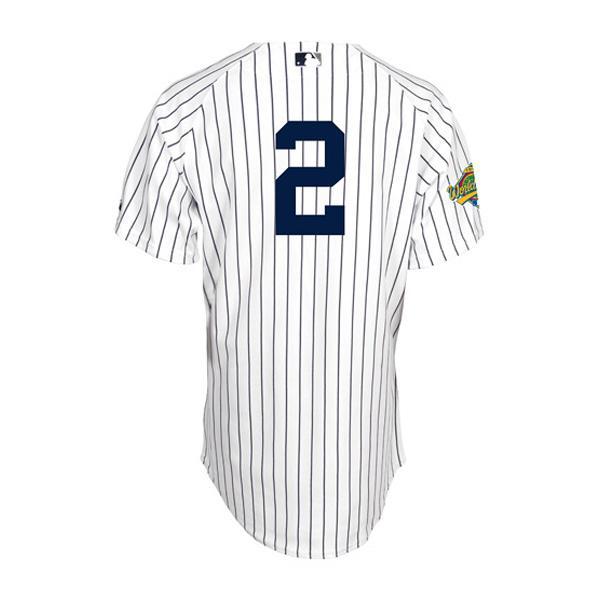 【セール】MLB ヤンキース デレク・ジーター ユニフォーム ホーム Majestic【セール】