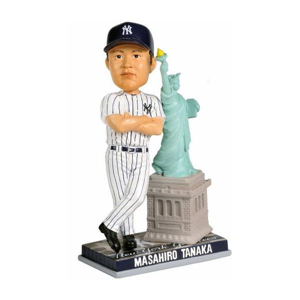MLB ヤンキース 田中将大 フィギュア 自由の女神像 Forever Collectibles Bobblehead 2014
