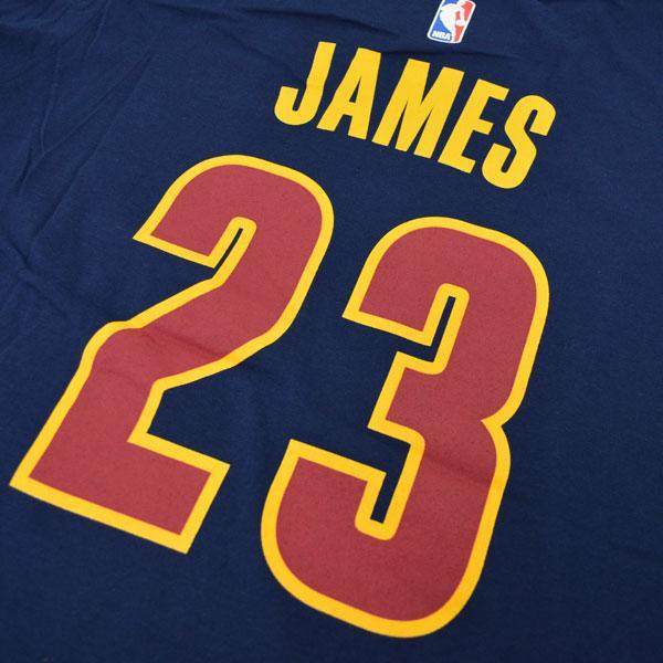 NBA 骑士队勒布朗 James T 衬衫海军阿迪达斯网号码 t 恤