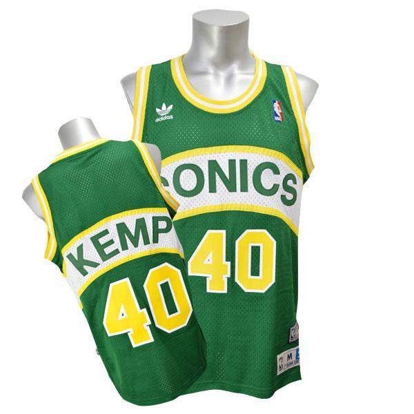 Adidas Soul Swingman Jersey NBA SuperSonics # 40 Shawn Kemp (road)
