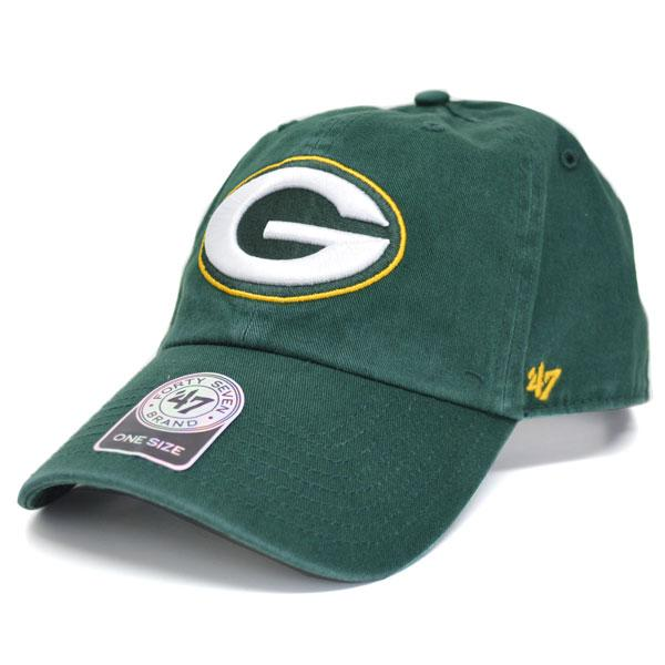 cheap for discount 0687c 1a130 NFL Packers Cap   Hat green 47 brand Cleanup Adjustable Cap ...