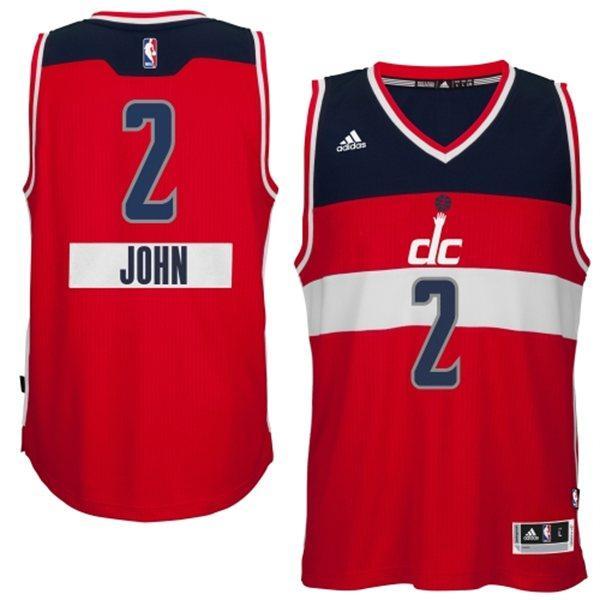 ccdb732af09 NBA wizards # 2 John wall 2014-15 Christmas Day Swingman Jersey (road)  Adidas