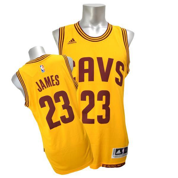 best service 0388e 9cdaa And the NBA Cavaliers # 23 LeBron James 2014-15 New Swingman Jersey  (alternate) Adidas
