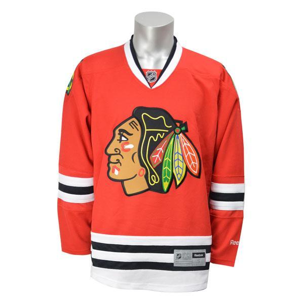 NHL ブラックホークス ユニフォーム ホーム Reebok