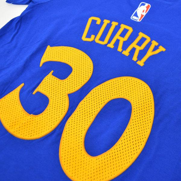 Adidas NBA warriors # 30 Stephen Curry Youth GAME TIME t-shirt (blue)