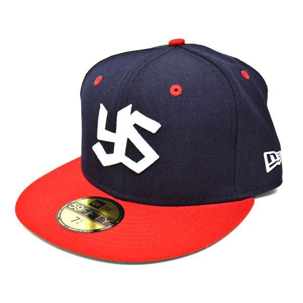 東京養樂多燕子玩具帽子 / 帽深藍 / 紅色新時代定制經典帽復古系列