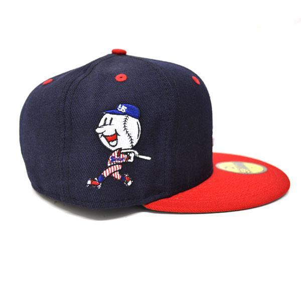 东京养乐多燕子玩具帽子 / 帽深蓝 / 红色新时代和新时代 (定制经典帽 (复古系列))