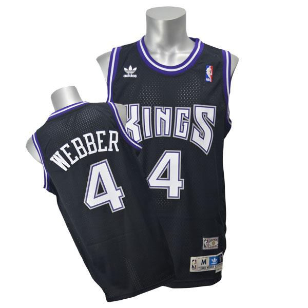 NBA キングス クリス・ウェバー ユニフォーム ロード アディダス Soul Swingman ユニフォーム