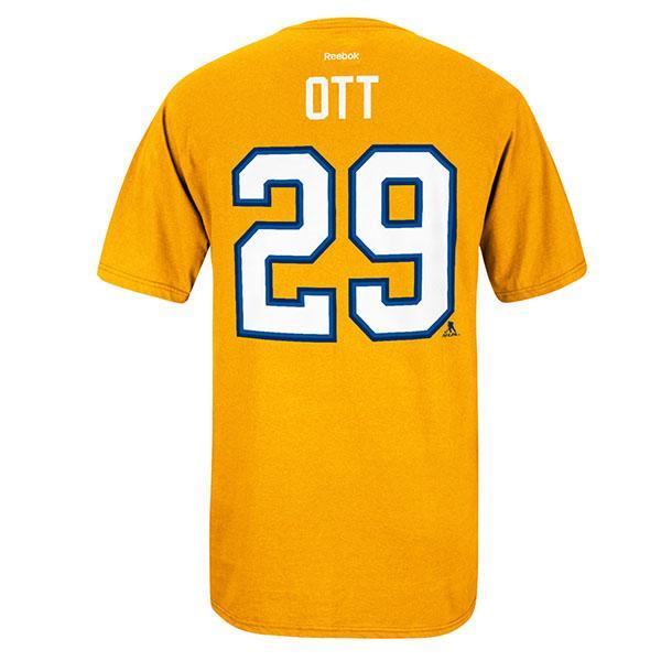 NHL Blues Steven Ott player name & number T shirt Reebok /Reebok
