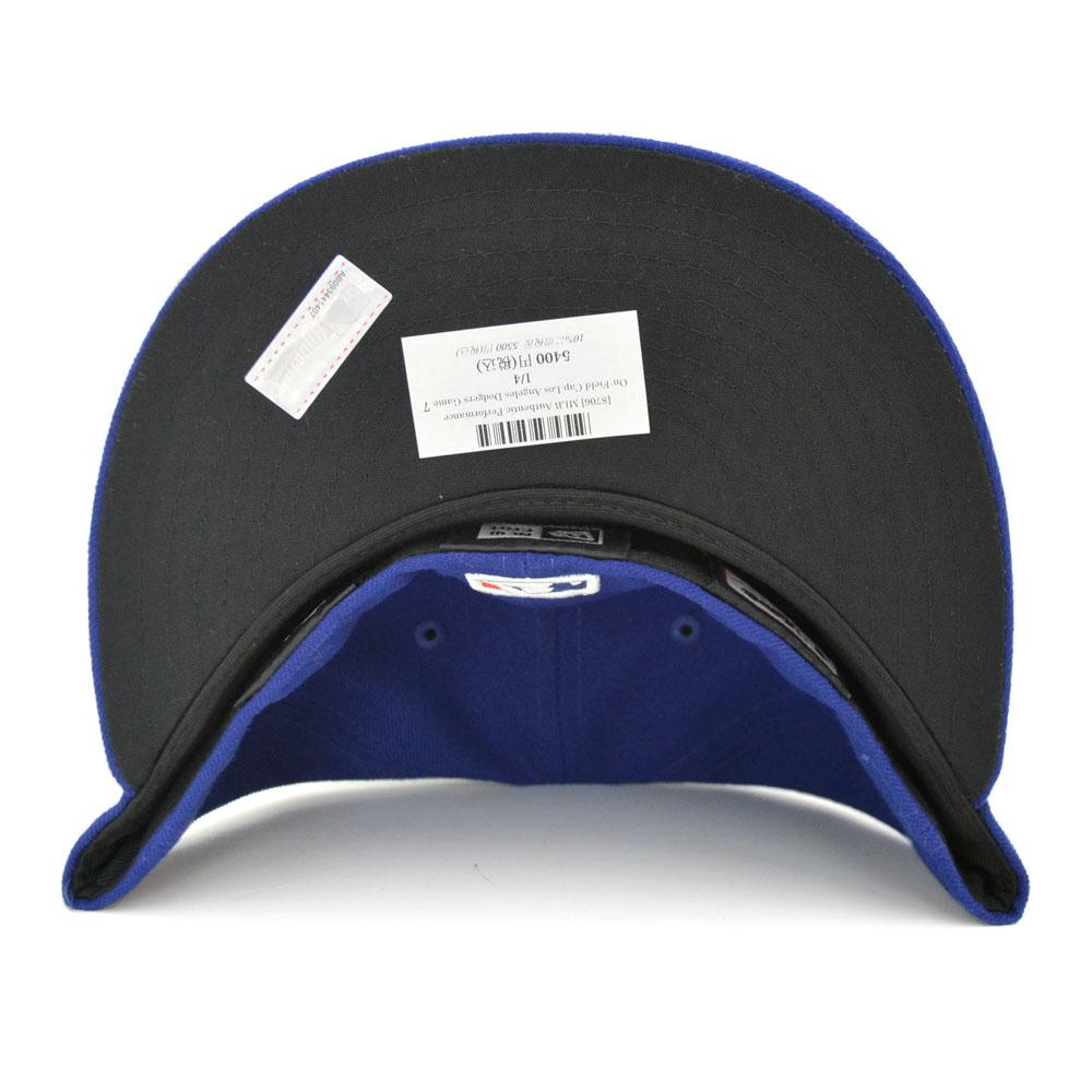 MLB Los Angeles Dodgers Authentic Performance On-Field cap (game) New Era