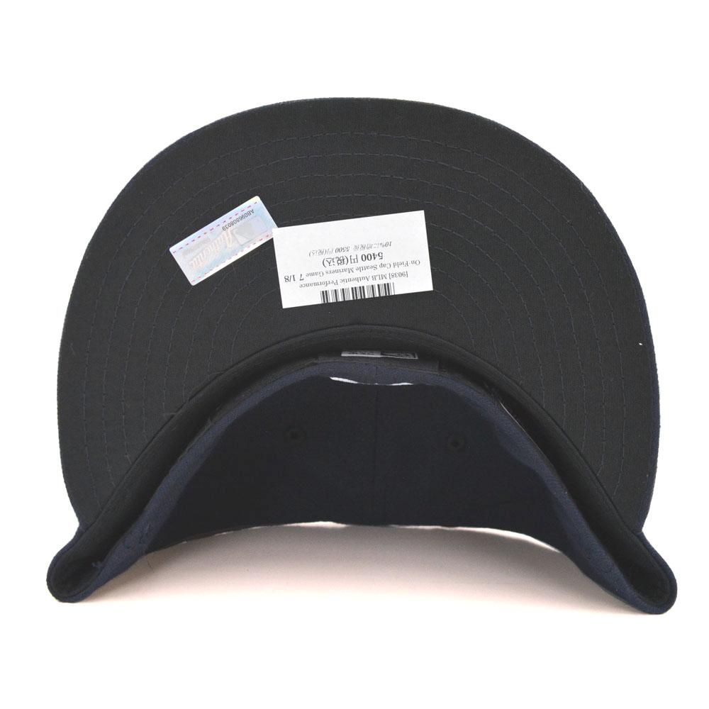 New Era MLB Seattle Mariners Authentic Performance On-Field Cap (game)