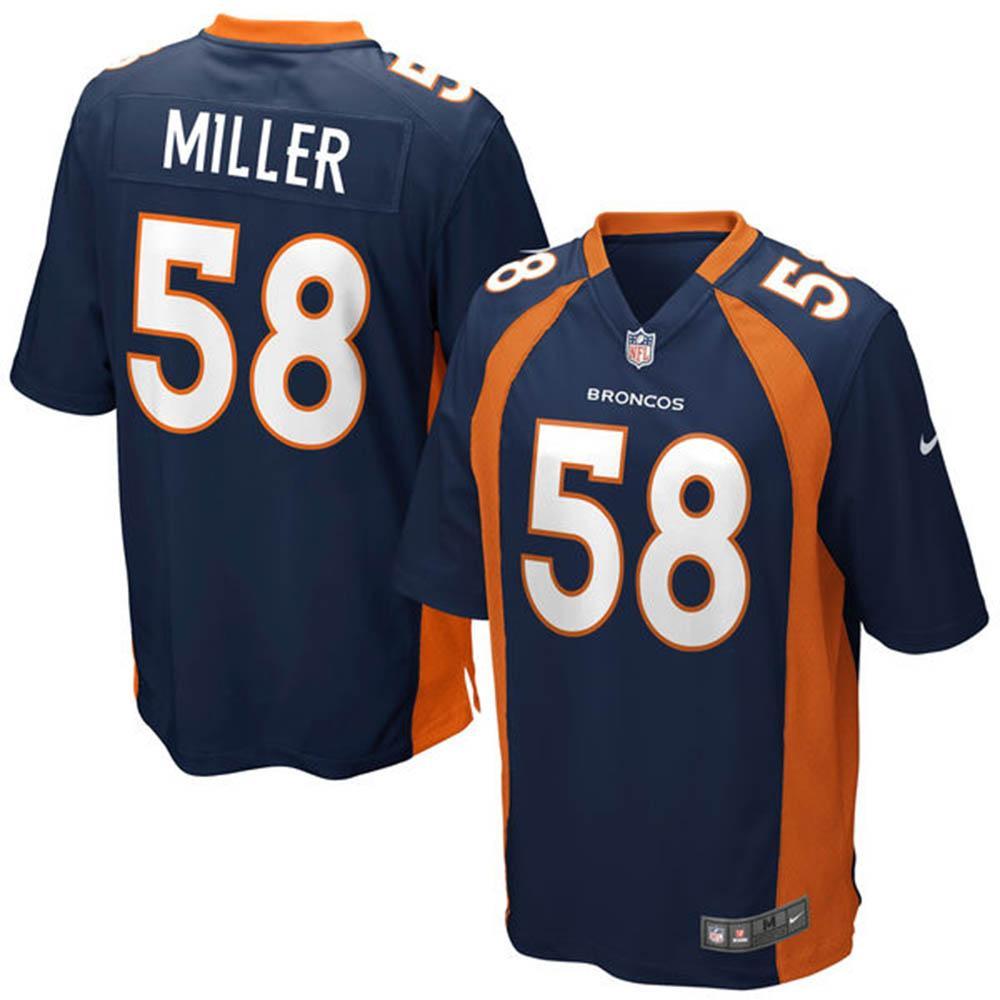 NFL ブロンコス ボン・ミラー ゲーム ユニフォーム ナイキ/Nike