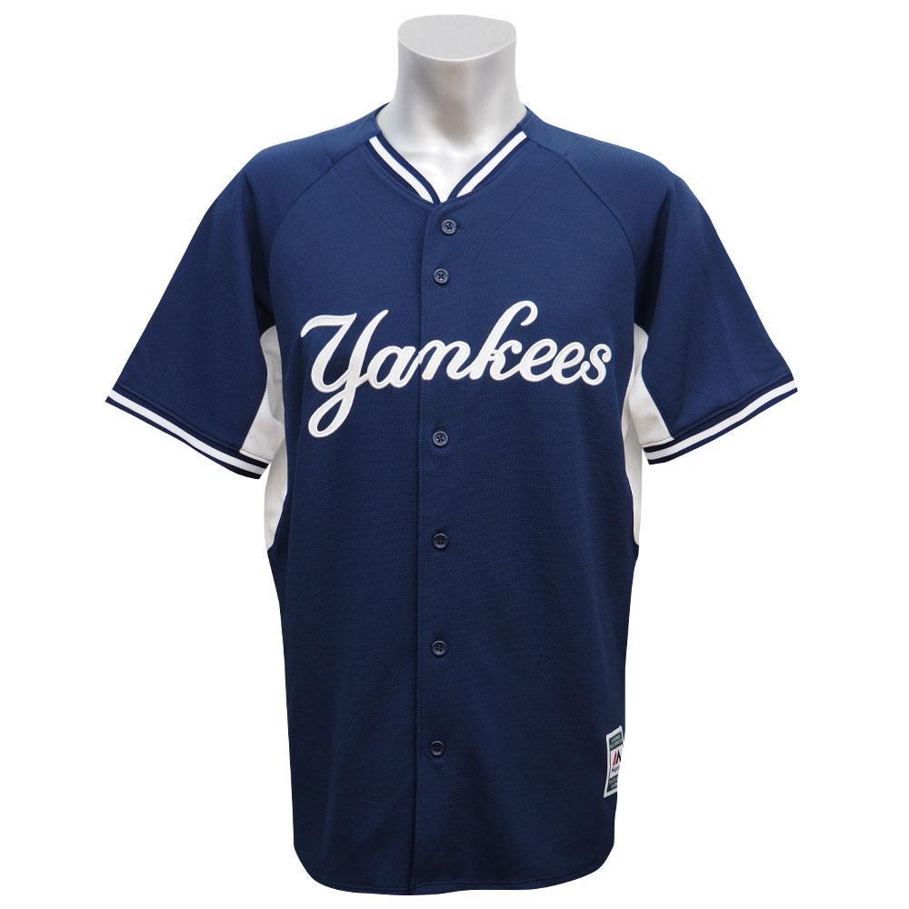 MLB ヤンキース ファッション レプリカ バッティング プラクティス ユニフォーム マジェスティック/Majestic