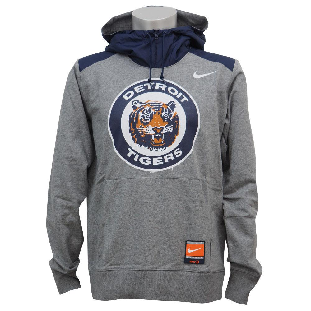 MLB タイガース クーパーズタウン コレクション ハイブリッド フーディー ナイキ/Nike