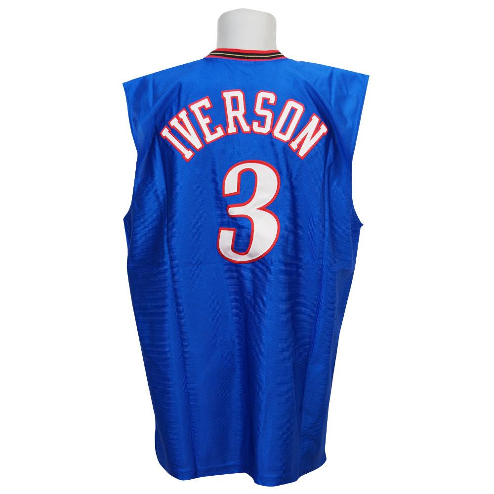 NBA 76ers アレン・アイバーソン オーセンティック ユニホーム チャンピオン/Champion