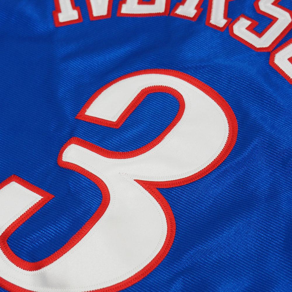 9bdaca2aeda9 MLB NBA NFL Goods Shop  NBA 76ers Allen Iverson authentic Jersey ...