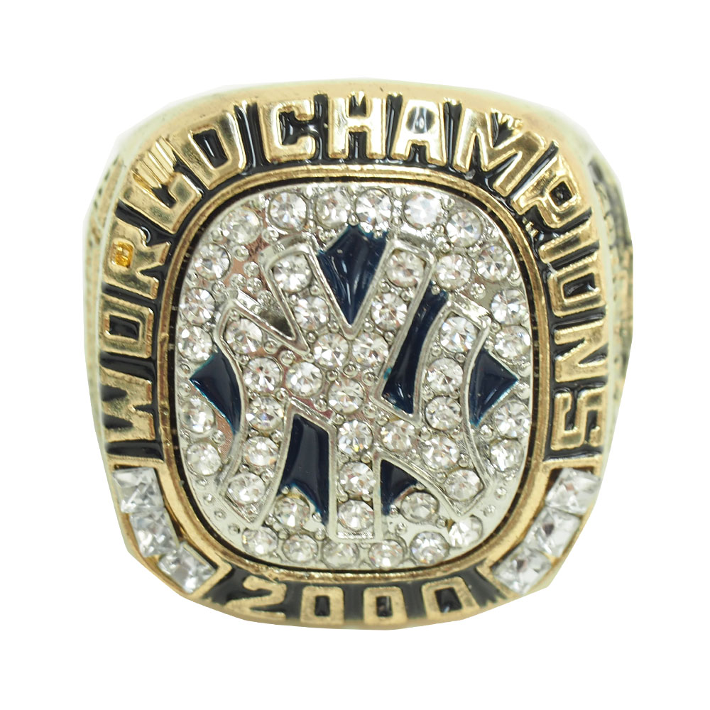 MLB ヤンキース 2000 ワールドシリーズ ファン レプリカ リング レアアイテム