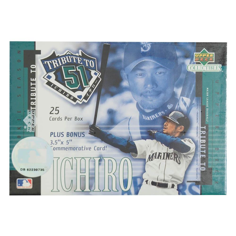 MLB マリナーズ イチロー 25 カード ボックスセット アッパーデック/Upper Deck レアアイテム