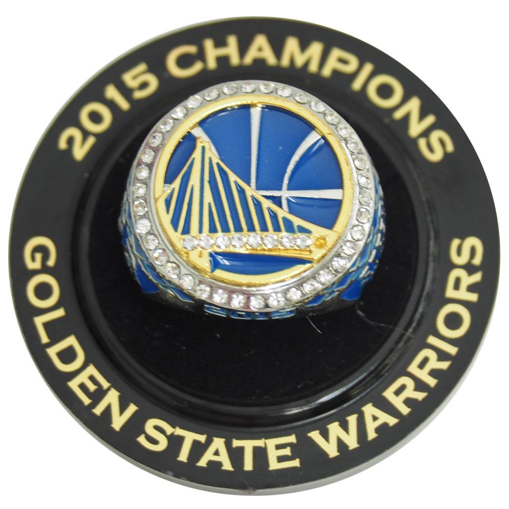 NBA ウォリアーズ 2015 レプリカ チャンピオン リング レアアイテム