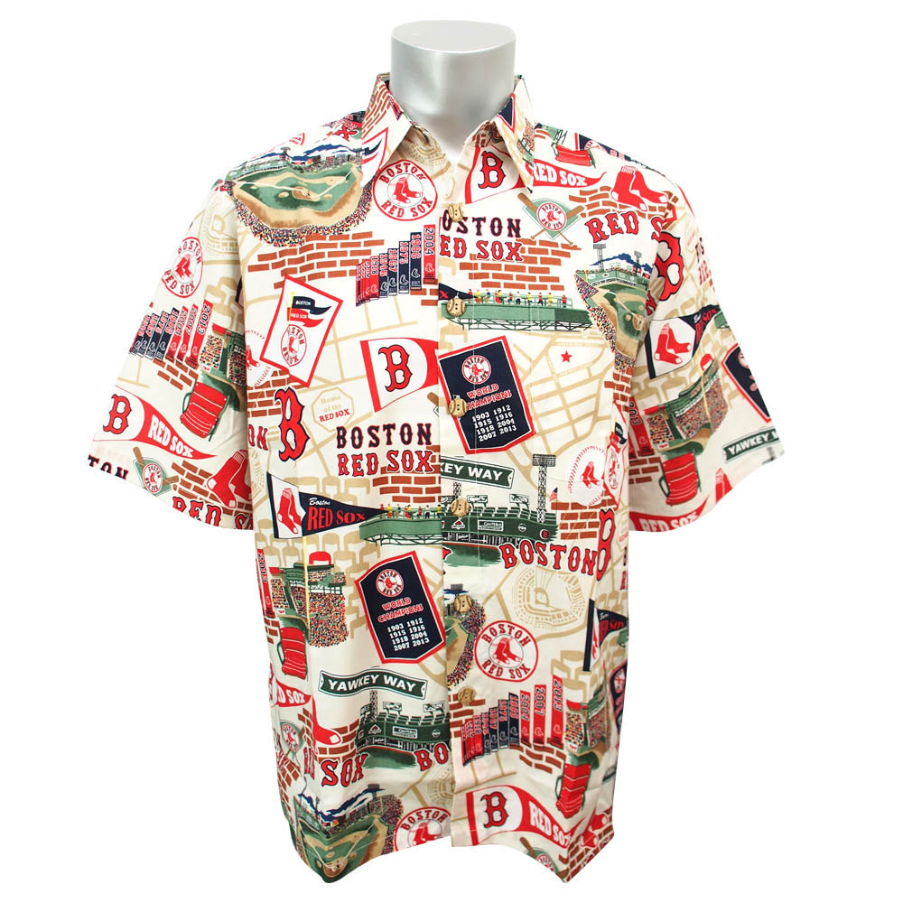 3d7210be MLB NBA NFL Goods Shop: MLB Red Sox Aloha rain Spooner /Reyn Spooner ...
