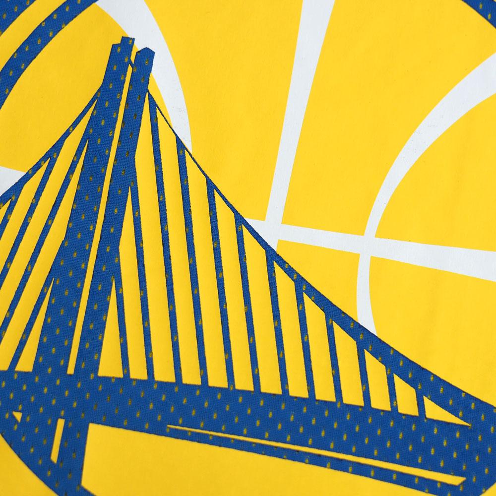 NBA 勇士下降步可逆网格背心米切尔 & 岬 /Mitchell & 岬